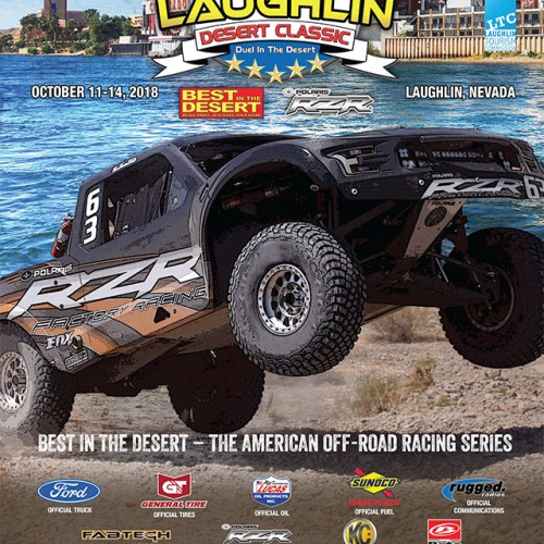 2018 Best in the Desert Laughlin Desert Classic Race Program