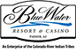 Blue Water Resort & Casino sponsor logo