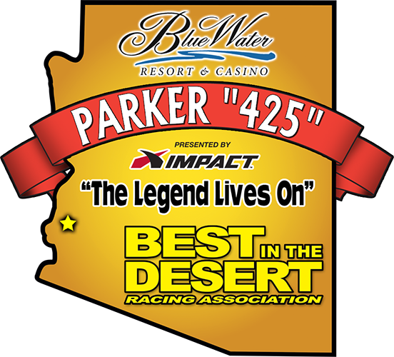 2019 Bluewater Resort Parker 425 logo