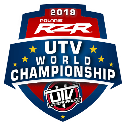 2019 Polaris RZR UTV World Championship logo