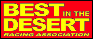 best in the desert color logo