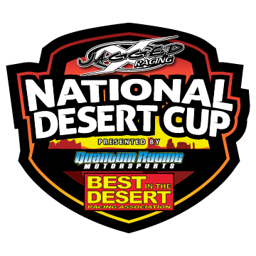 national desert cup race event logo