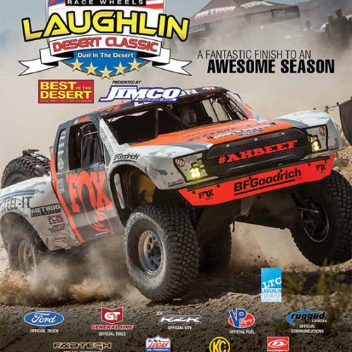 laughlin desert classic program cover