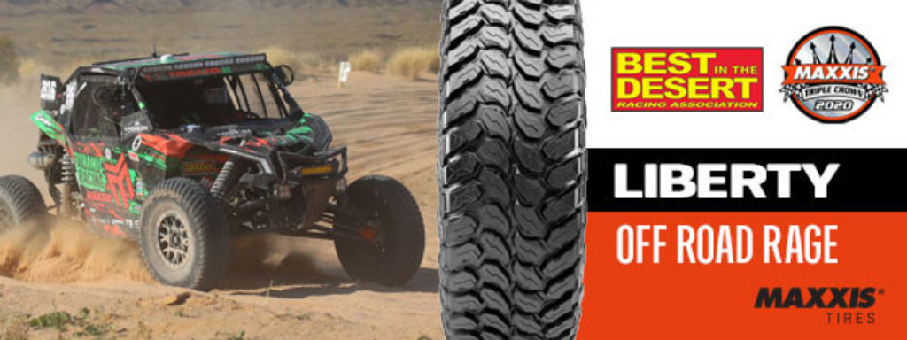 maxxis liberty off road rage tire ad