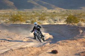 moto racer at national desert cup