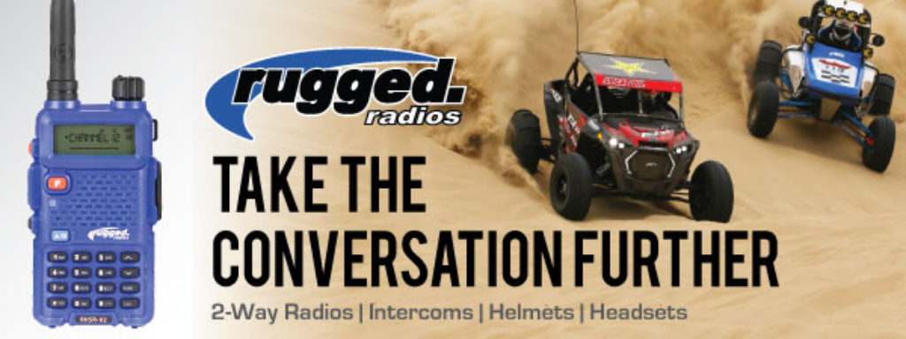 rugged radios advertisement