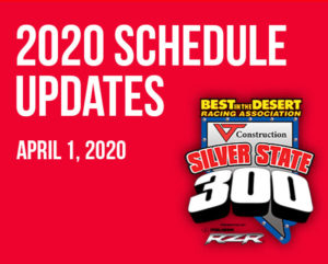 2020 BITD Race Schedule Updates