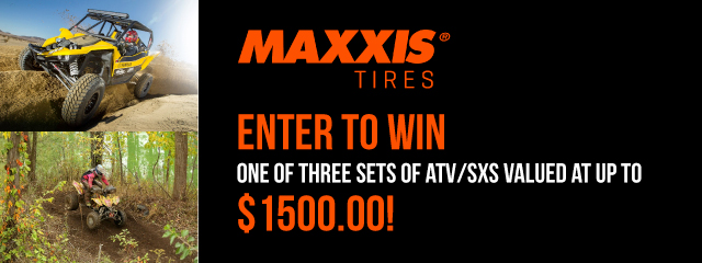 Maxxis Tire Giveaway
