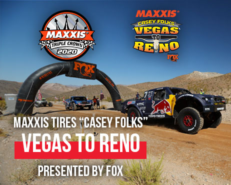 "Maxxis Tires ""Casey Folks"" Vegas to Reno Presented by Fox"