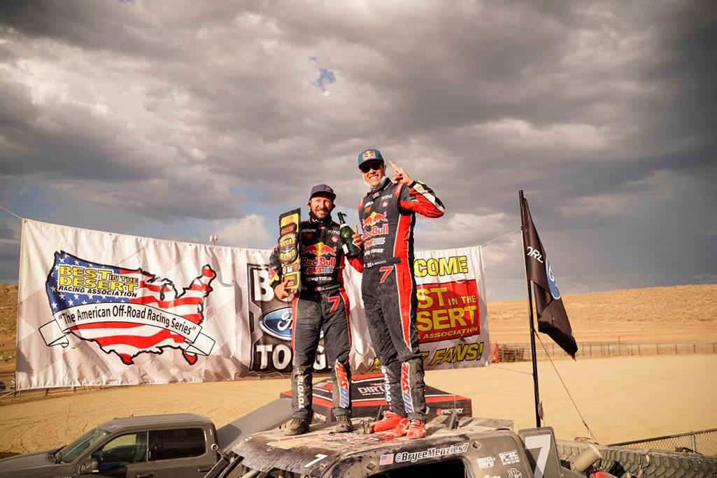 2020 vegas to reno overall trick truck winner bryce menzies