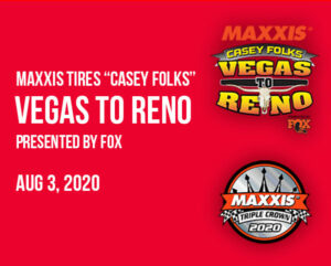 Vegas to Reno Race Update august 3 2020