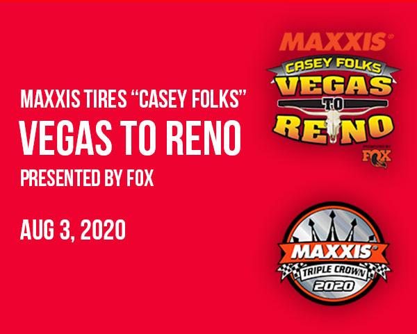 Vegas to Reno Race Update august 3 2020
