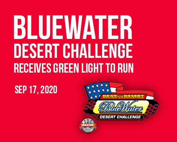 2020 bluewater desert challenge off-road is on