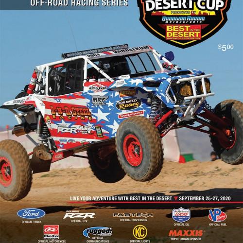 2020 national desert cup off road racing program