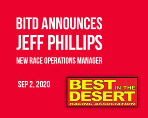 new bitd race operations manager jeff phillips