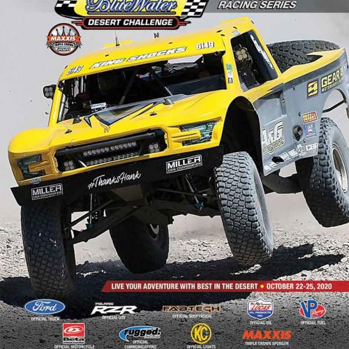 BlueWater Desert Classic Race Program cover photo