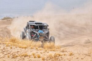 Austin Weiland racing in the 2020 bitd bluewater desert challenge