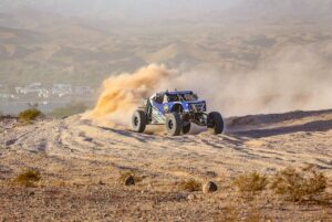 Brandon Bailey and Jason Dudley racing in the 2020 BITD bluewater desert challenge