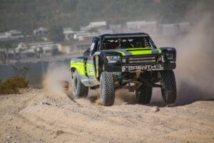 Kyle Jergensen racing in the 2020 bitd bluewater desert challenge
