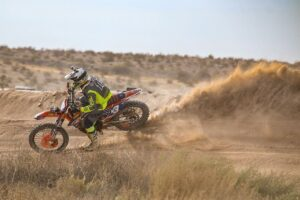 Nic Colangeli racing in the 2020 BITD Bluewater Desert Challenge