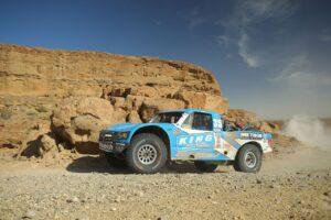 jason voss racing in a bitd off-road desert racing event