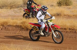 Amateur Motorcycle 399 off-road racing Class
