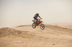 Amateur Motorcycle Ironman off-road racing Class