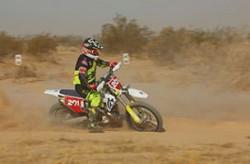 Expert Motorcycle 399 off-road racing class