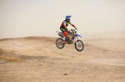 Expert Motorcycle O-30 off-road racing Class