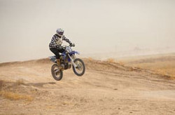 Expert Motorcycle O-50 off-road racing Class
