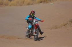 Expert Motorcycle Womens off-road racing Class