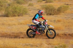 Pro Motorcycle O-30 off-road racing class