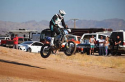 Pro Motorcycle O-40 off-road racing class