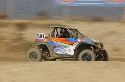 Youth 570 Production UTV off-road racing Class