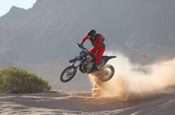 Motorcycle 399 off-road racing class