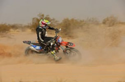 Pro Motorcycle Ironman off-road racing class