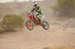 Pro Motorcycle Open off-road racing class