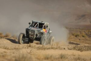 seth quintero racing in the 2020 vegas to reno utv production class