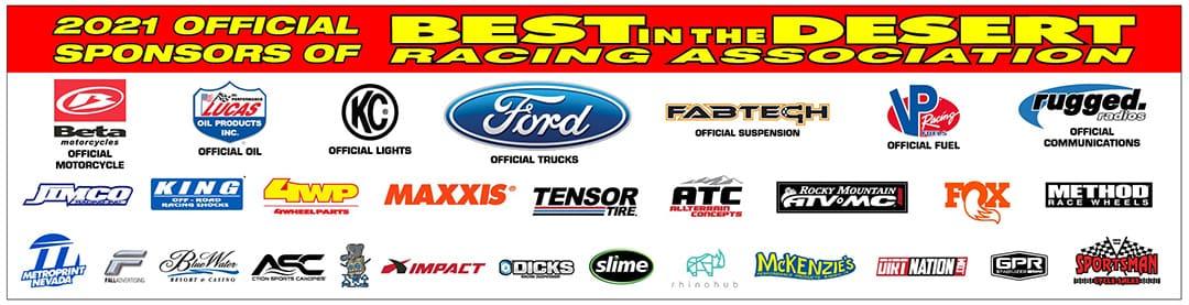 best in the desert sponsors