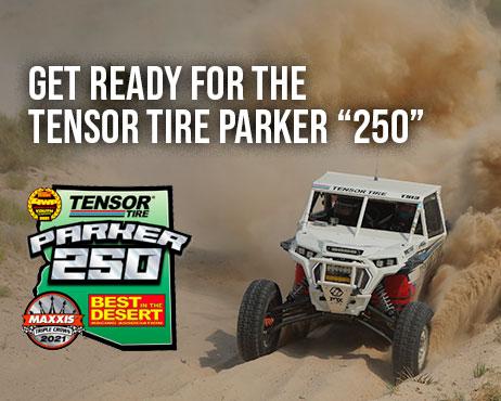 2021 tensor tire parker 250
