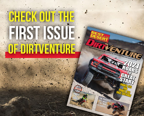 first issue of DirtVenture