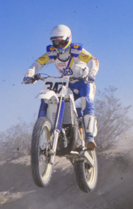 Dan Smith at the 1984 Hare and Hound Championship