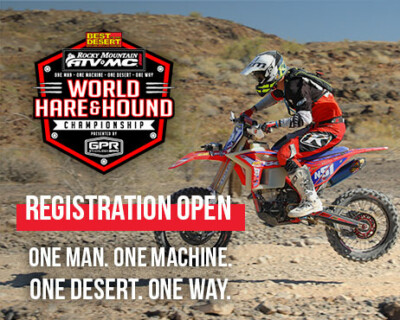 """Registration to Open for Rocky Mountain ATV/MC World Hare and Hound Championship Presented by GPR –  Racing Legend Russell Pearson to Ride as """"Hare"""""""