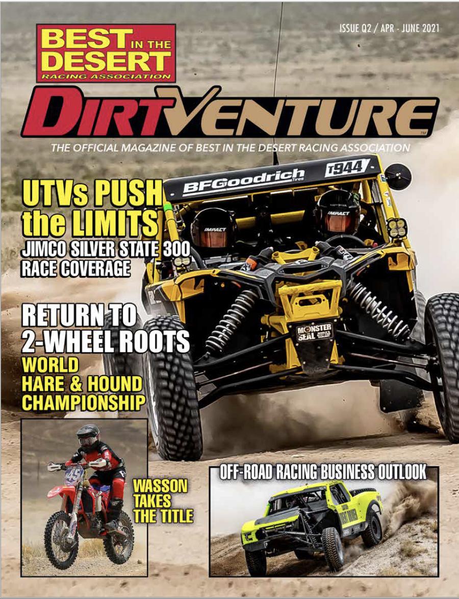 DirtVenture Q2 Cover