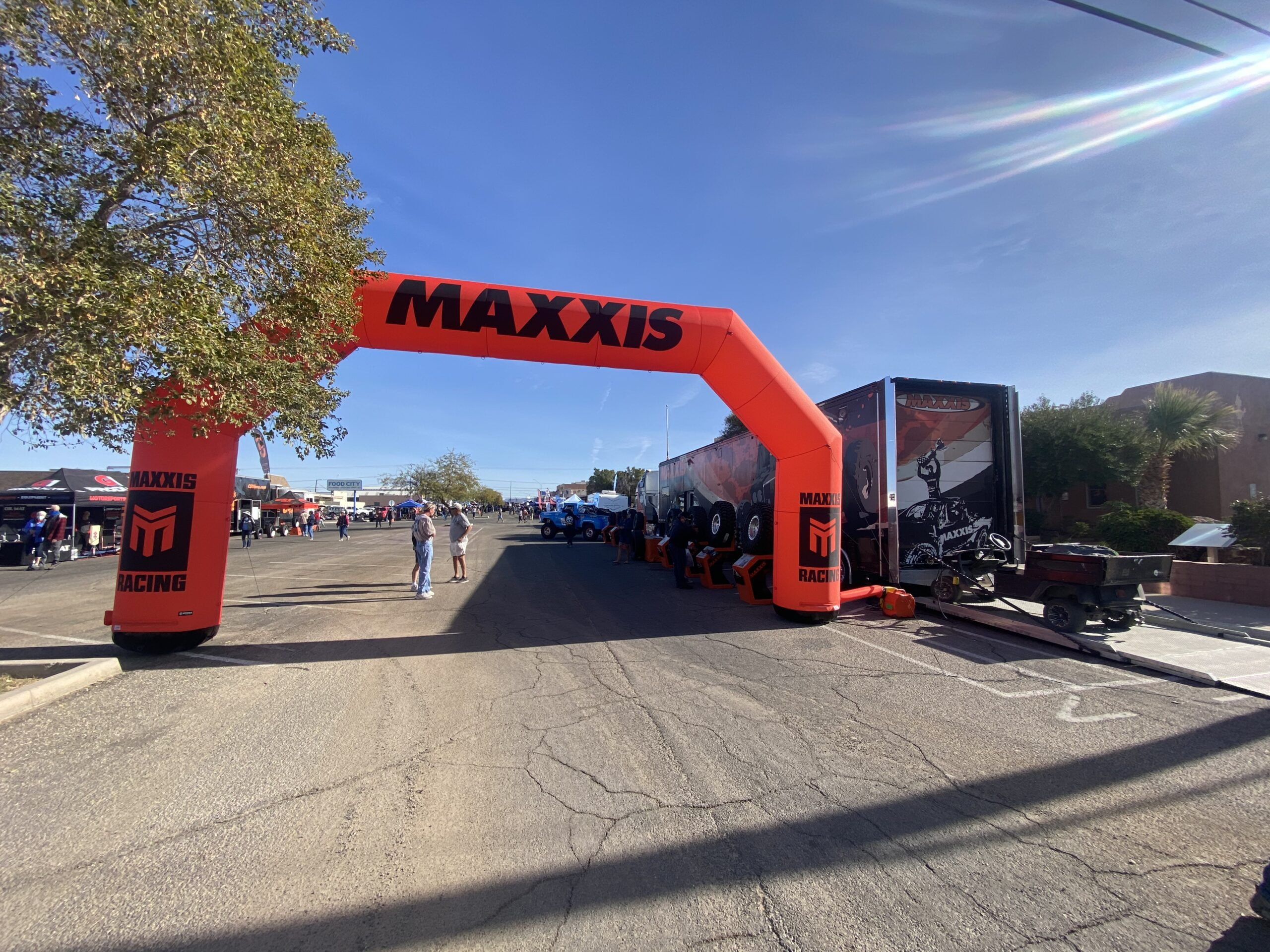 Maxxiss finish line at BITD event
