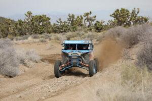 #T944 Phil Blurton driving his Can-Am Maverick X-3 UTV at a Best In The Desert race. Photo Credit: Harlen Foley