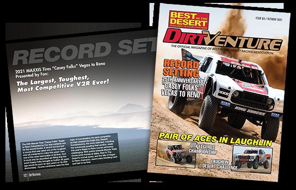 dirtventure magazine cover photo