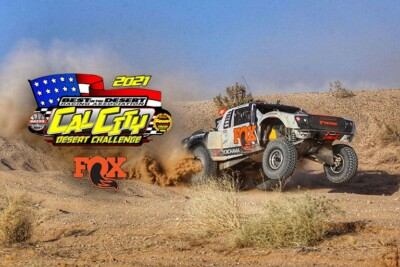 BlueWater Desert Challenge Brought to You by Fox Venue Moved to Peralta Ranch   Name Changed to Cal City Desert Challenge Brought to You By Fox